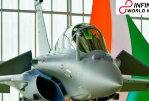 IAF's muscle power gets a further lift as three more Rafale jets show up