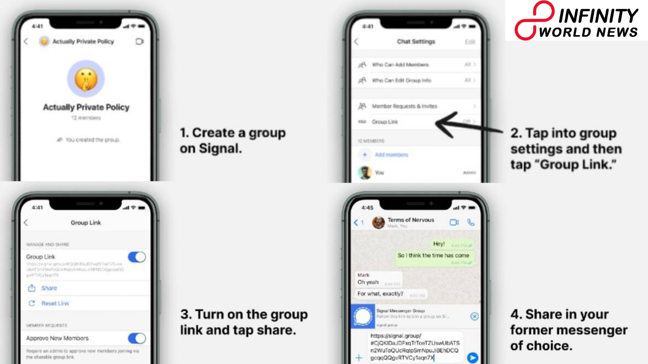 Move your WhatsApp group to Signal: Here are how to do it