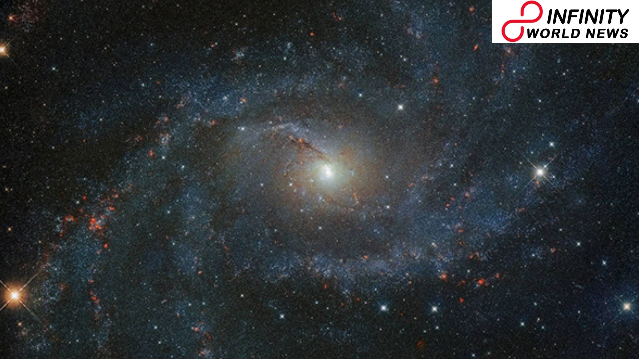 NASA Shares Spellbinding Pictures of 'Firecrackers Galaxy' That Saw 10 Supernovae into Last 100 Years