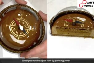 Netizens Cant Show to Get Over This Chocolate Compass