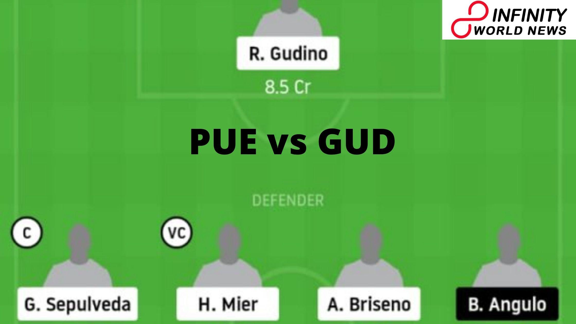 PUE vs GUD Dream11 Match Prediction Club Puebla versus C.D. Guadalajara Mexican League 9 January
