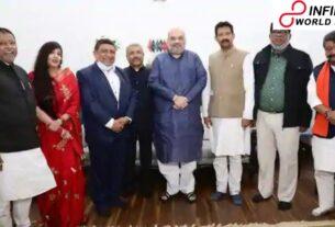 Rajib Banerjee, other previous TMC pioneers, join BJP in Delhi