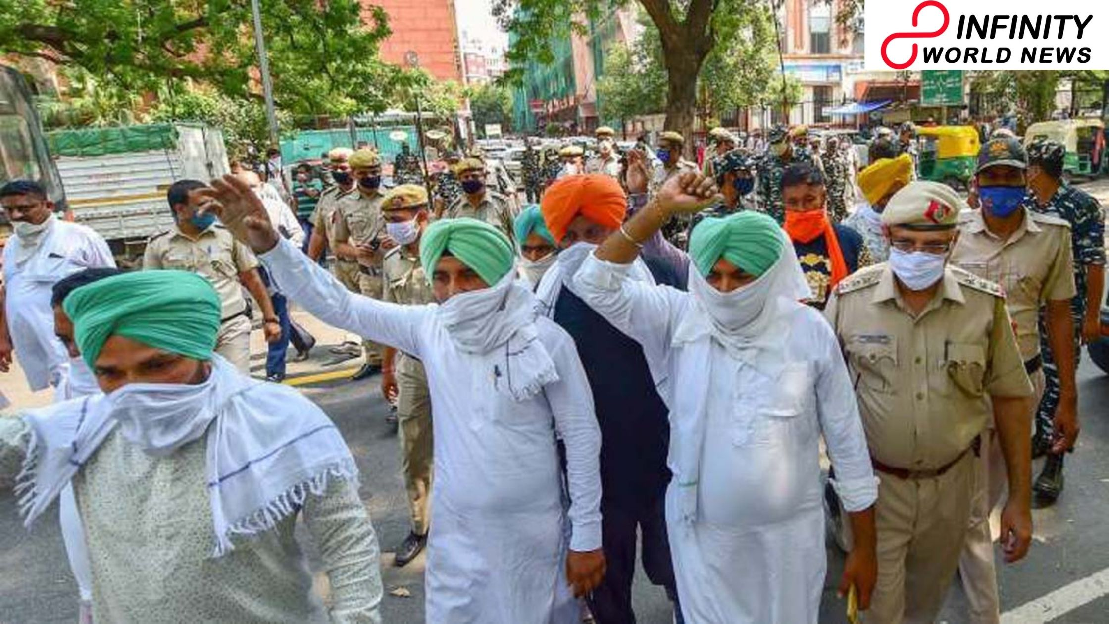 SC communicates dissatisfaction on Center's treatment of farmers' protest