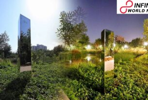 Strange Monolith Suddenly Disappears from Ahmedabad Park Leaving Behind a Small Note