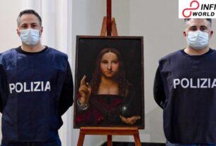 Taken 500-year-old work of art found in Naples cabinet