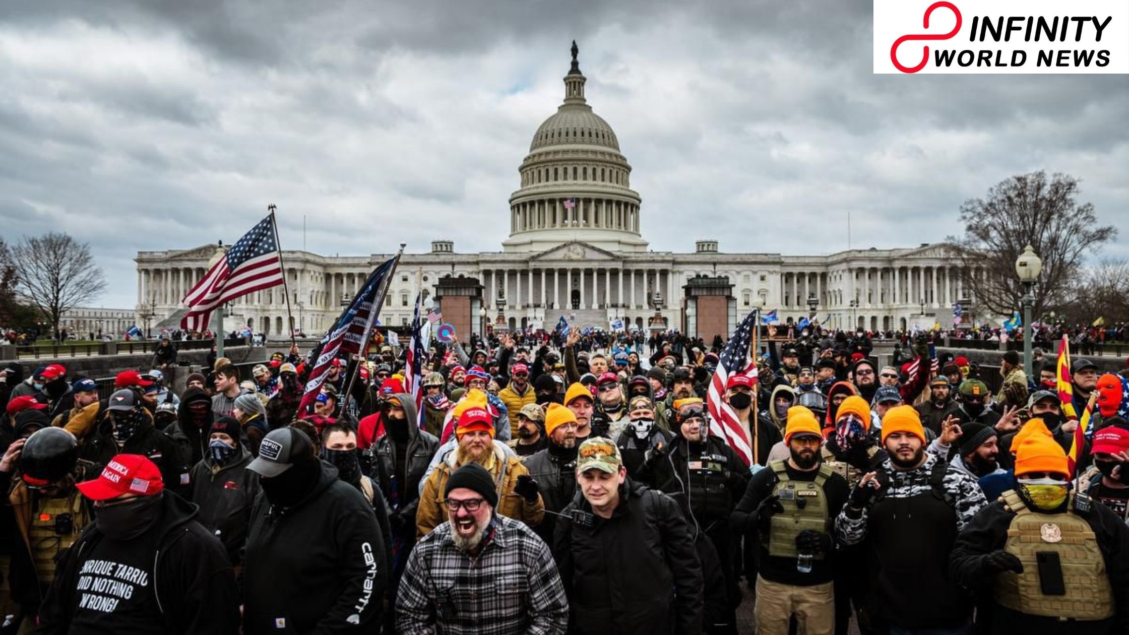 US Capitol riots: World pioneers respond to 'astonishing' scenes in Washington
