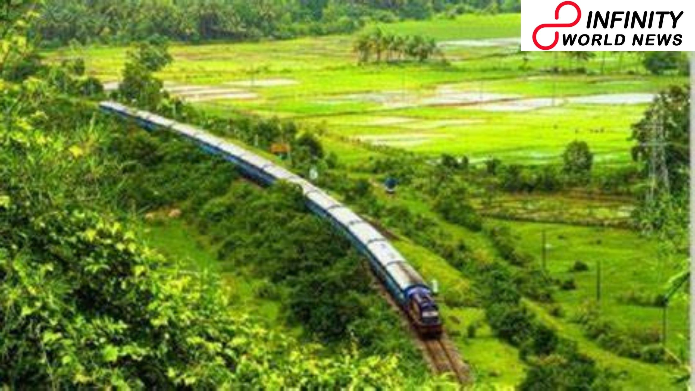 Viral Picture of 'Stupendous View' of Harwada Railway Station in Karnataka Leaves Netizens Amused