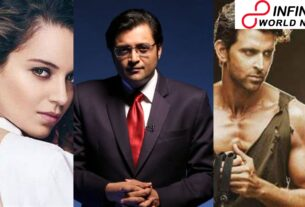 """Arnab Goswami's Alleged Dripped Chats Go Viral, A Message Reads, """"Kangana Ranaut Is S*xually Possessed With Hrithik Roshan"""""""