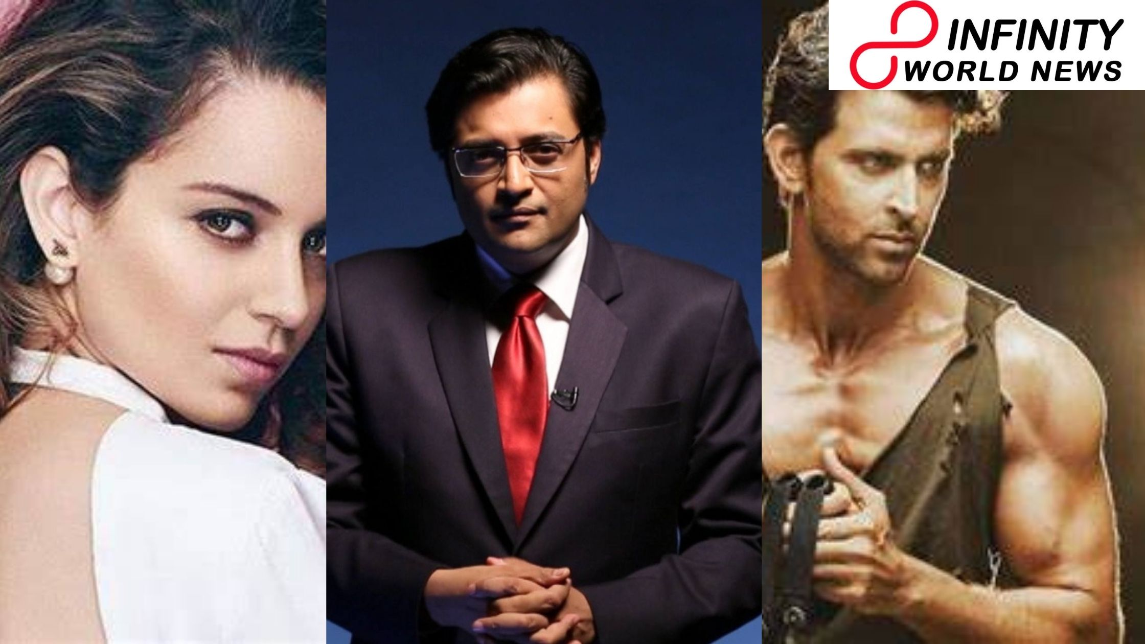 "Arnab Goswami's Alleged Dripped Chats Go Viral, A Message Reads, ""Kangana Ranaut Is S*xually Possessed With Hrithik Roshan"""