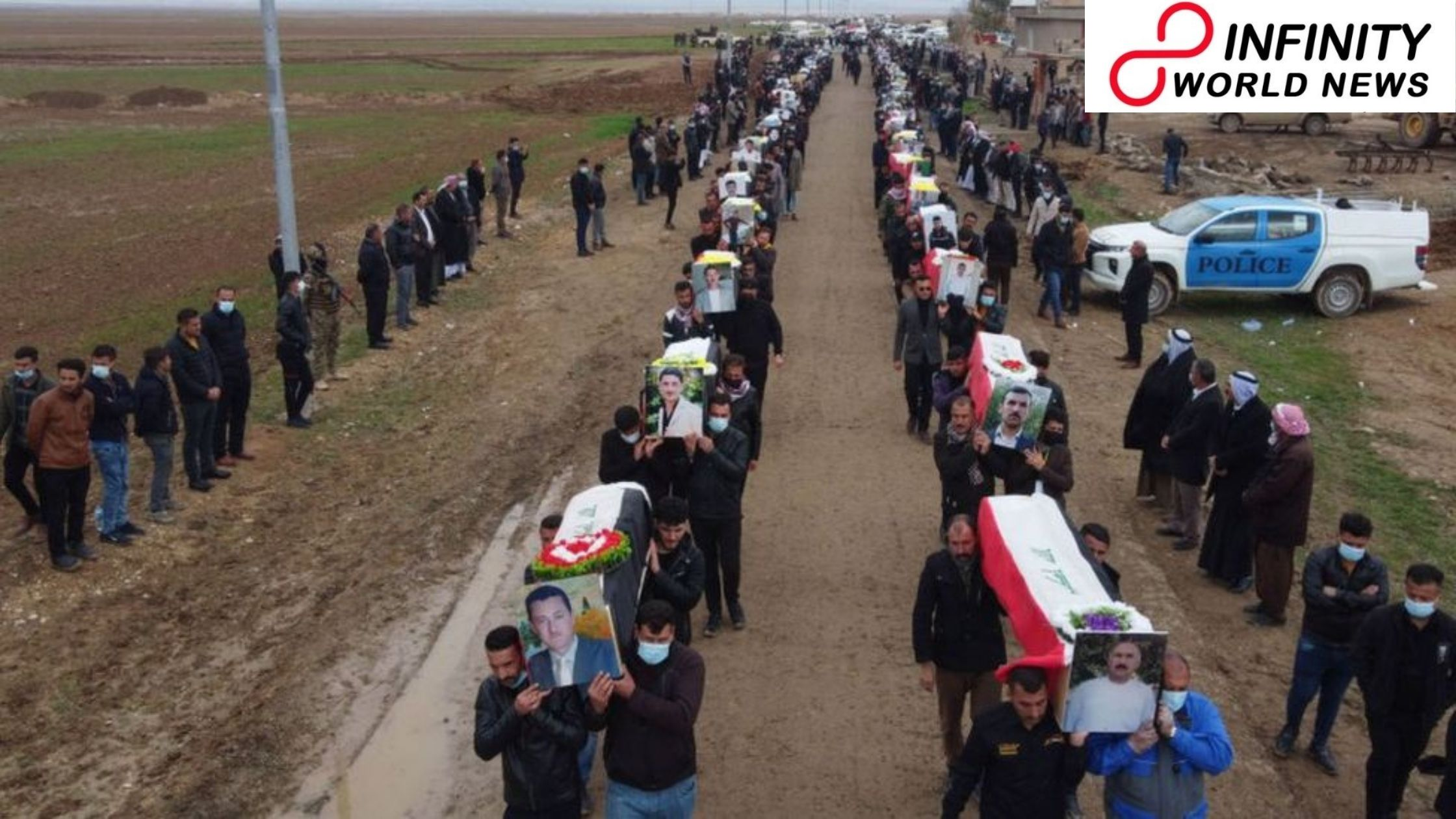 Iraq's Yazidi people group buries 104 survivors of IS slaughter