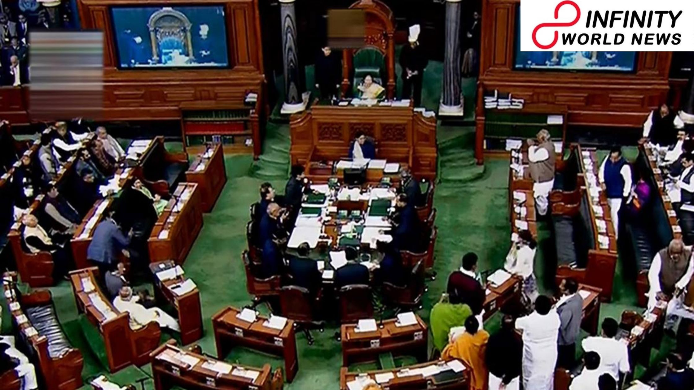 Lok Sabha dismissed till 7 pm following excitement by Opposition over farm laws