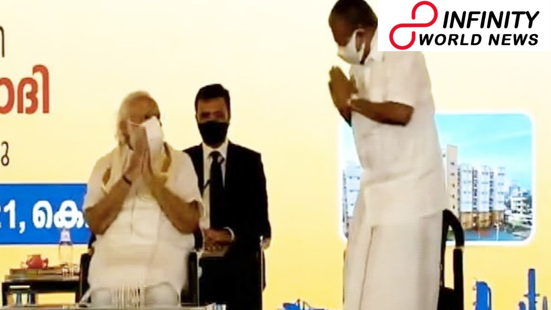 PM Modi, Kerala CM Share Namastes At Meet Before Elections