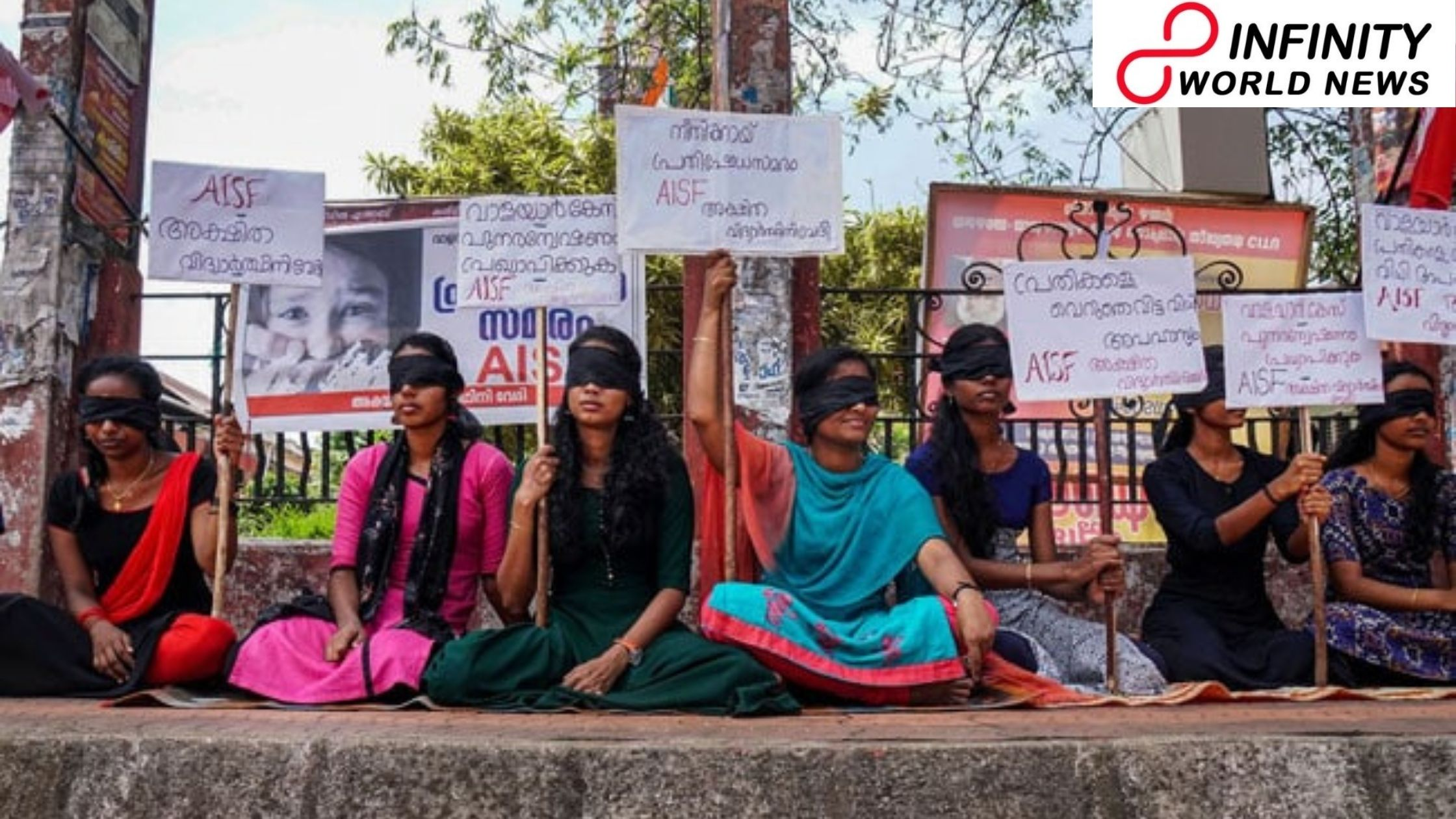 Kerala Woman Tonsures Head Seeking Action Toward Cops In Daughters' Sexual Assault Case