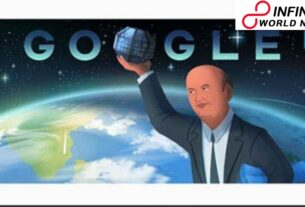 Google praises 'India's Satellite Man' Udupi Ramachandra Rao with a doodle on his introduction to the world commemoration