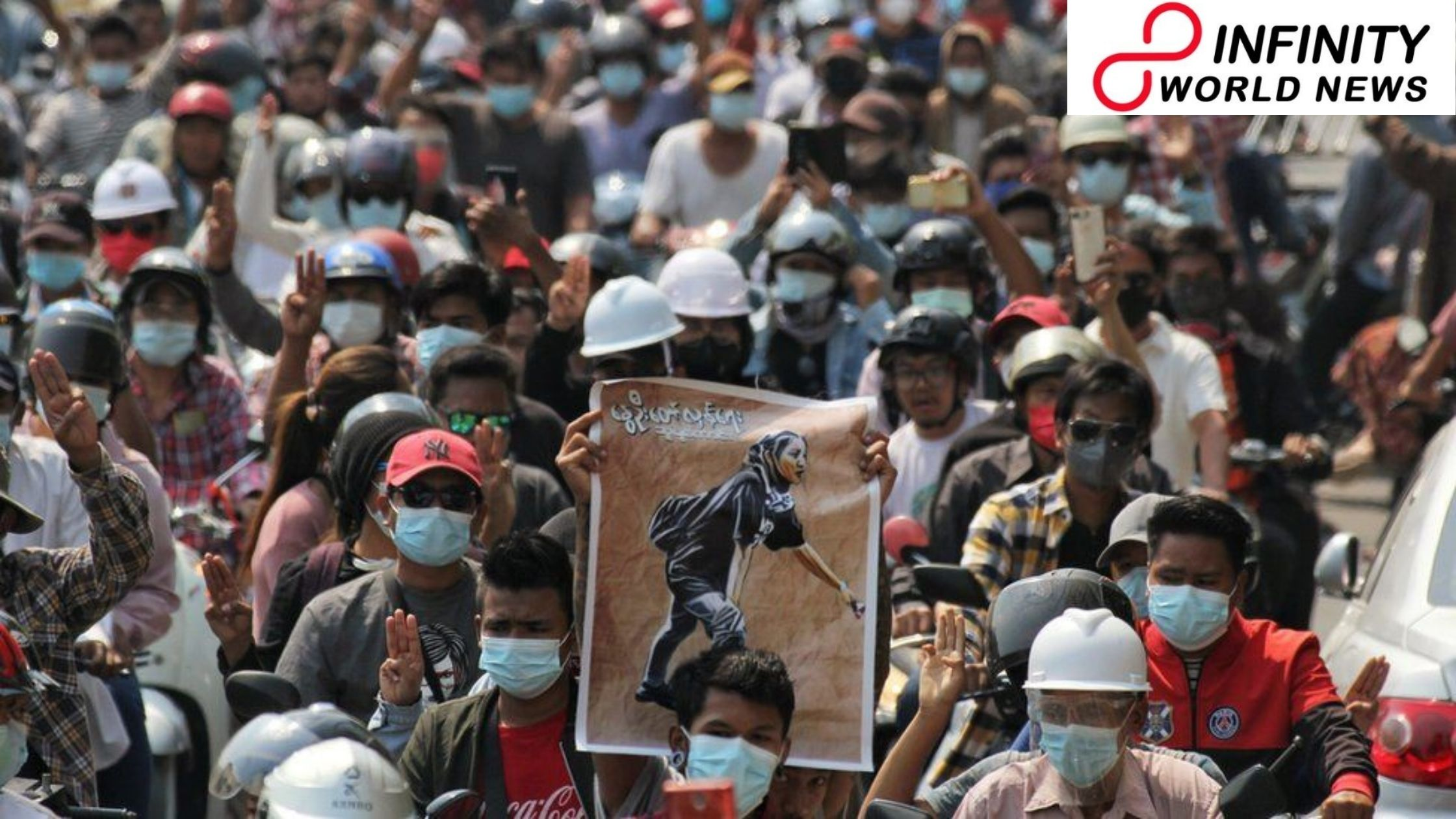 Myanmar upset: 'All will be Well' young nonconformist grieved