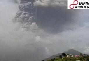 Saint Vincent volcano: 'Hazardous' Soufrière ejection flashes mass clearing