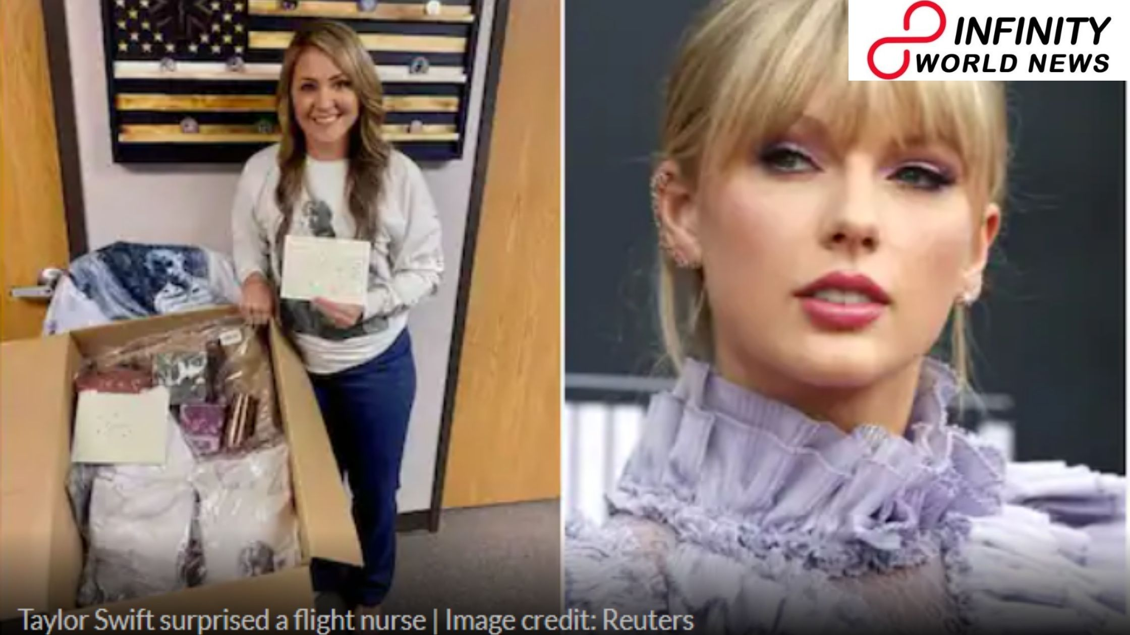 Taylor Swift Sends Gift also Handwritten Note to Thank US Nurse for Working Against Covid-19